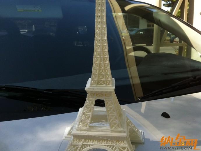 埃菲尔铁塔模型3d打印机图纸 2