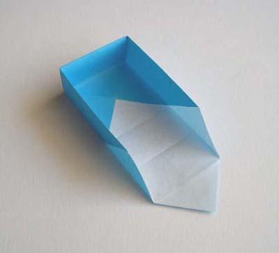 简单的手工折纸盒折纸制作图解