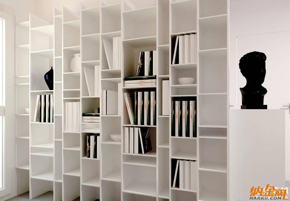 个性书柜效果图 展现创意生活乐趣高清图片