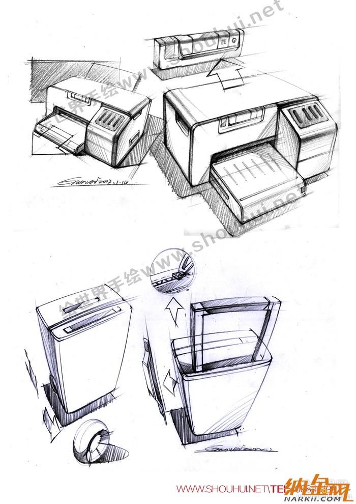 工业产品设计手绘作品