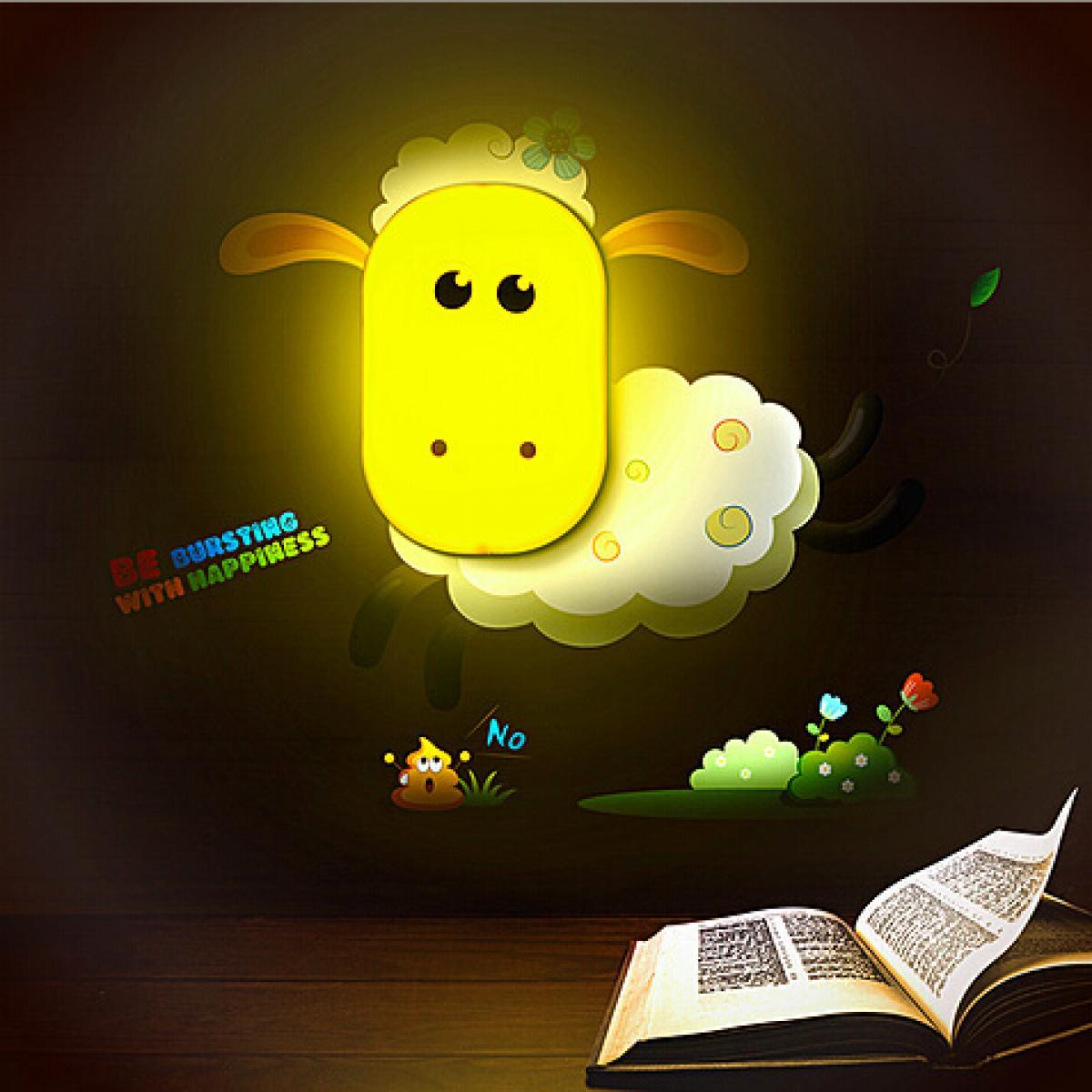 夜精灵小夜灯-小萌羊
