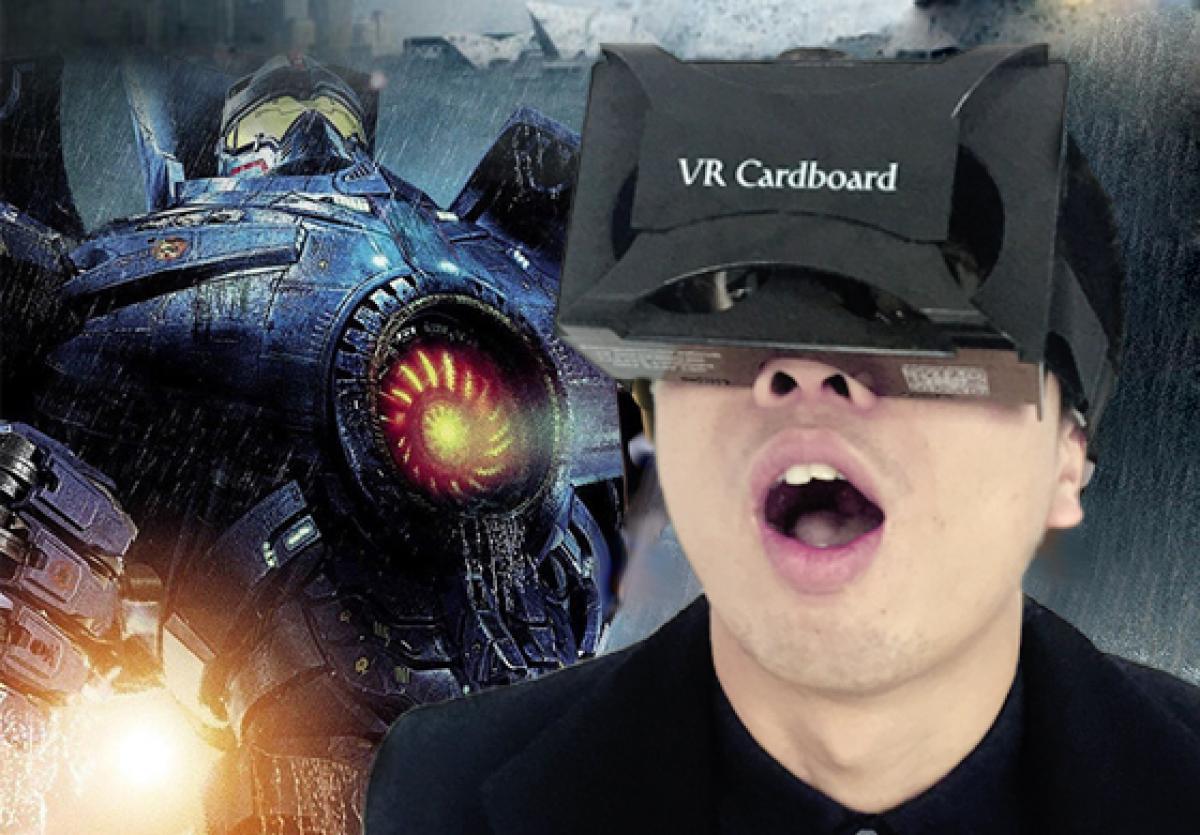 塑料盒虚拟头盔生日礼物