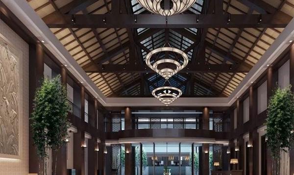 感受中式风格的风雅意境 大红门会所设计