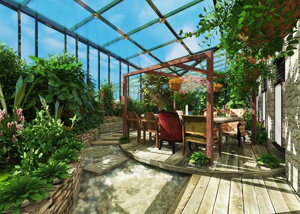 私人花园空间设计