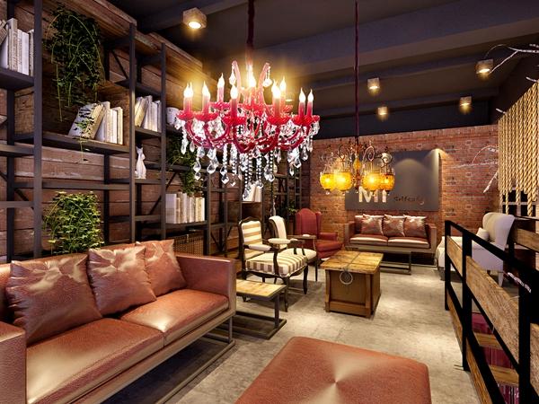 别墅会客室空间设计
