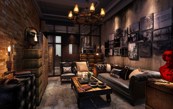 别墅会客室空间设计2