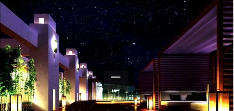 广州翡翠皇冠假日酒店灯光设计