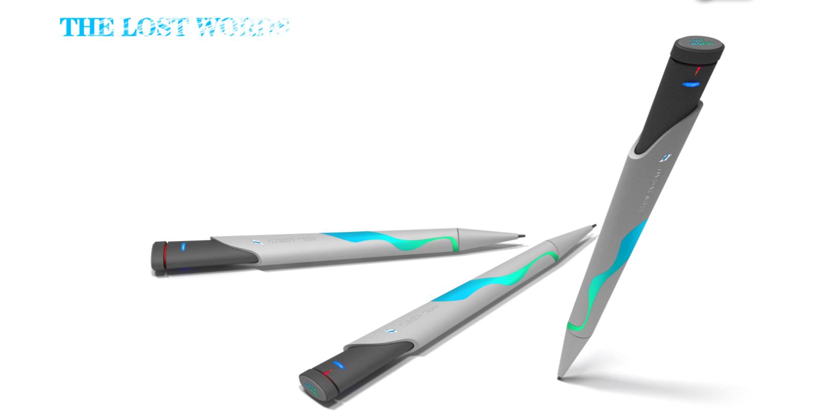 可消失笔迹的特制笔设计
