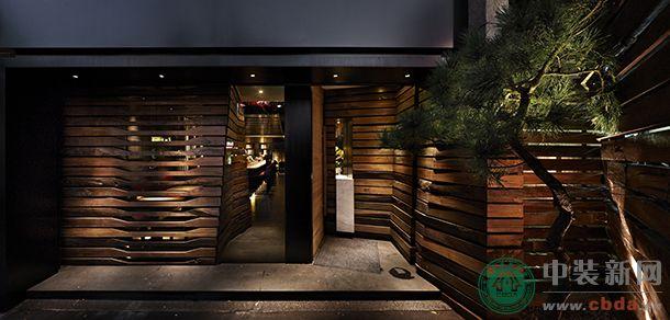 冲突而新颖的视觉空间 柚S和食厨房日式料理餐厅