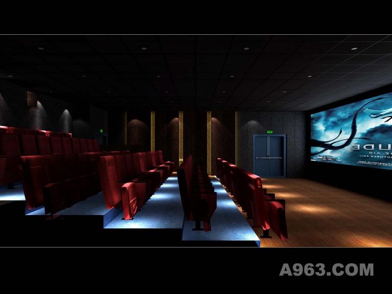 深圳一品国际--长沙嘉年华影院设计