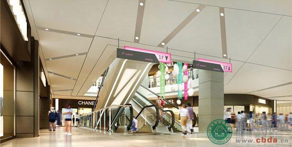 绿地大兴19#B商业空间设计 1