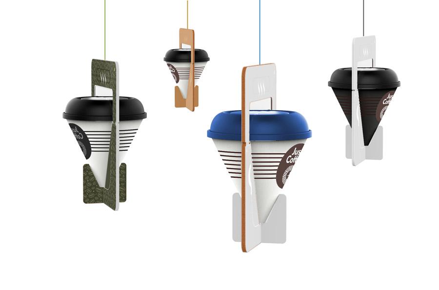 咖啡刚好+市场分析、造型及结构设计、样机+创意咖啡杯时尚杯子 实用的杯子办公 工业设计