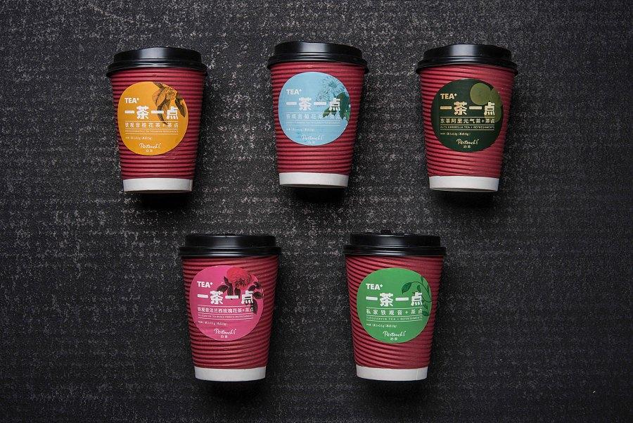泊喜TEA+私家茶质感包装设计