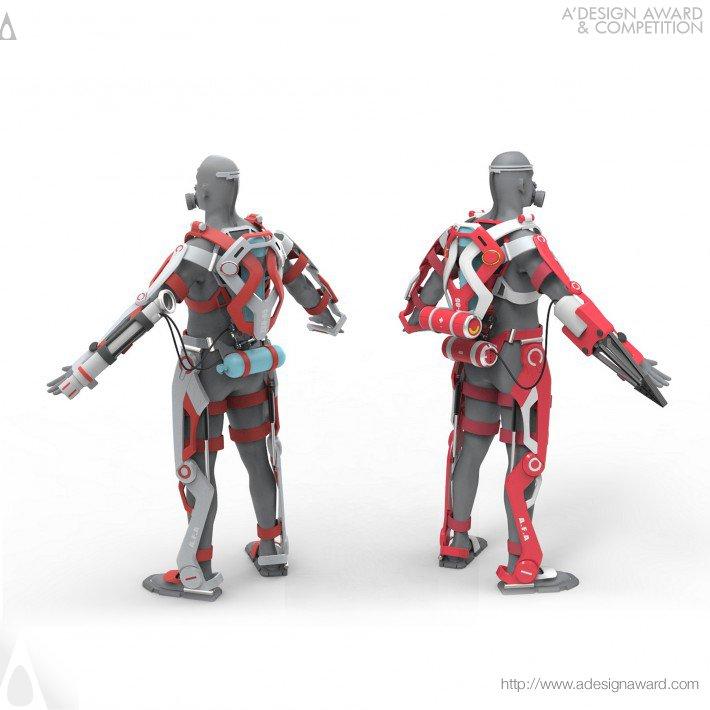 A.F.A exoskeleton suit