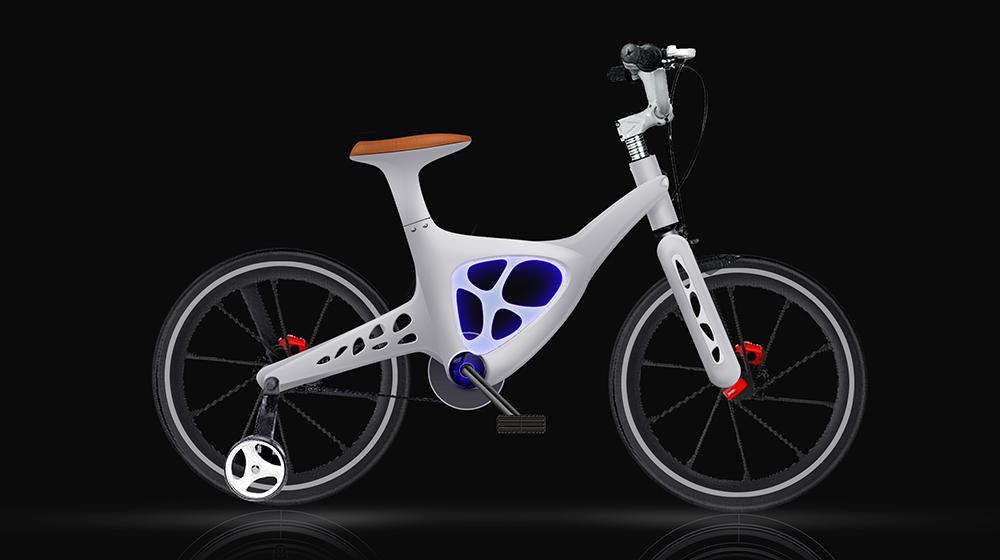 儿童镁合金自行车米奇龙童车