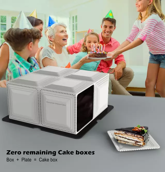 Zero remaining Cake boxes