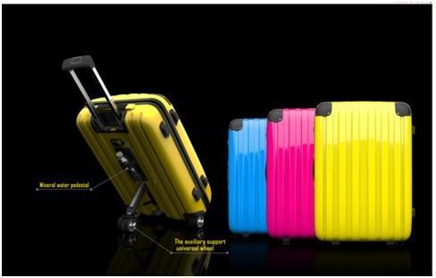 三轮行李箱