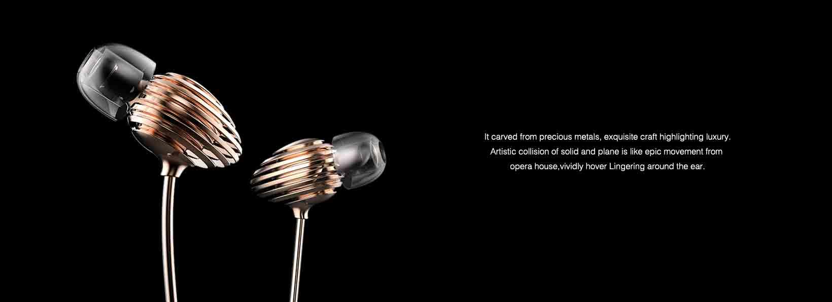 1 level贵金属高端定制耳机