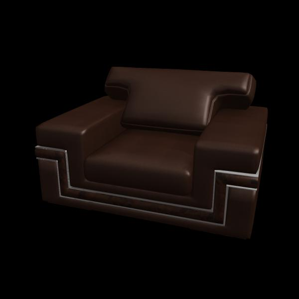 单人皮质沙发