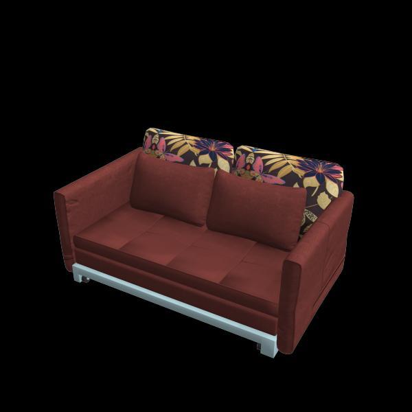 折叠靠枕沙发床