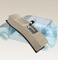 汽车换挡器Web3D展示方案-交互式3D