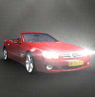 基于Unity的奔驰汽车虚拟演-交互式3D
