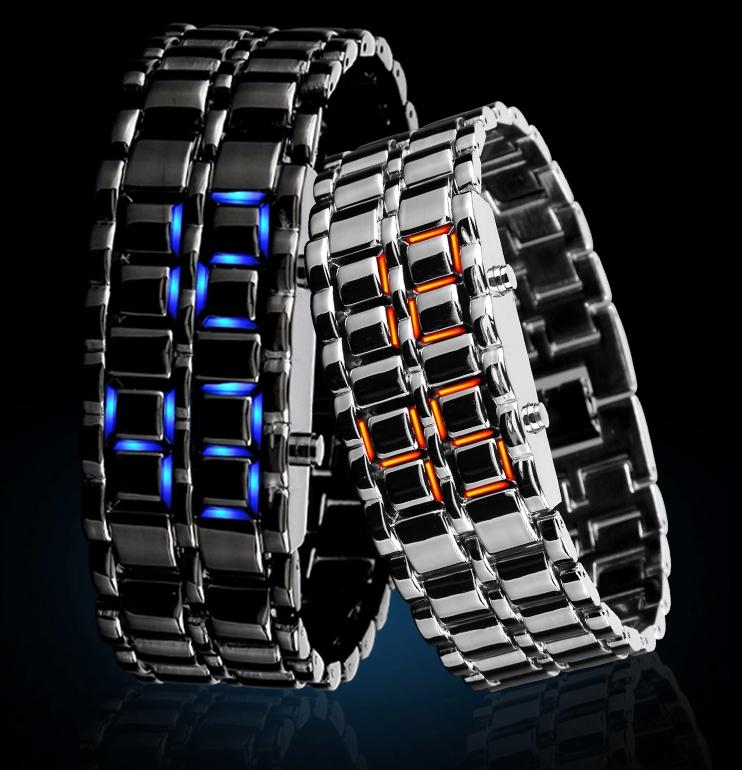 创意led防水手表-创意产品