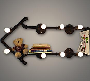 创意书架壁灯