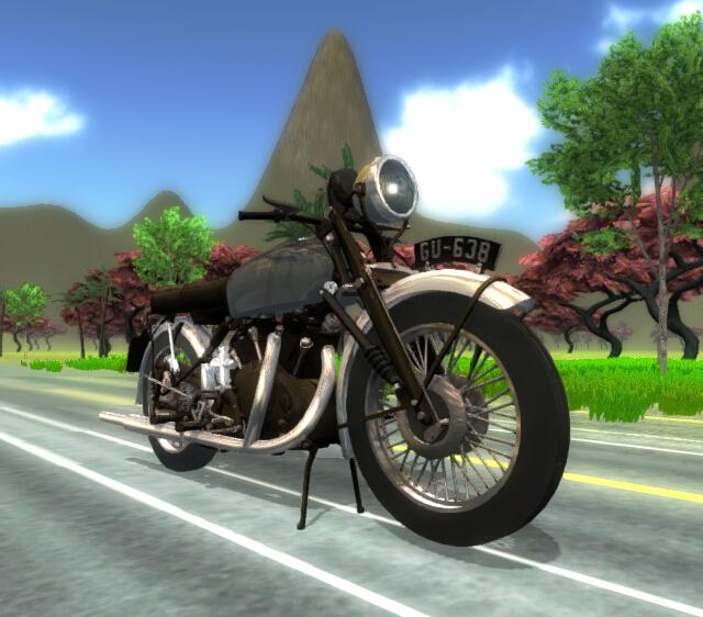 I3D摩托车展示-交互式3D
