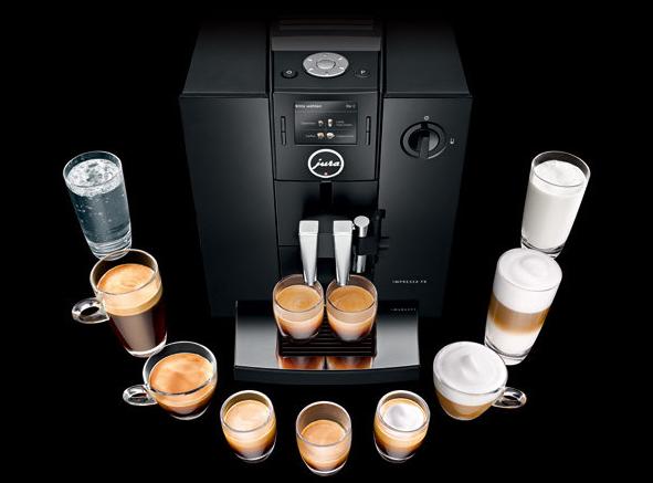 全自动咖啡机-工业创意设计