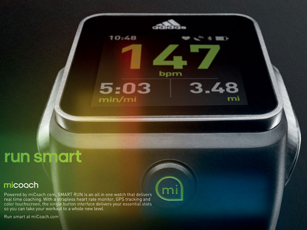 Adidas miCoach SMART RUN-工业创意设计