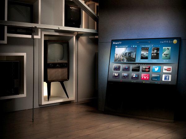 Philips DesignLine LED电视-工业创意设计