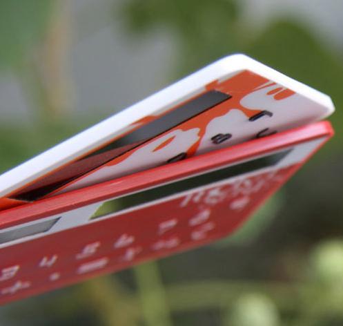 太阳能卡片计算器-创意产品