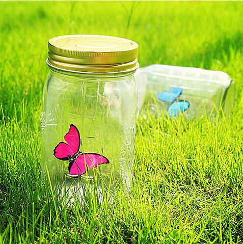 浪漫蝴蝶创意玻璃瓶
