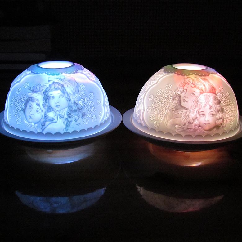 创意电池变色小夜灯摆件-创意产品
