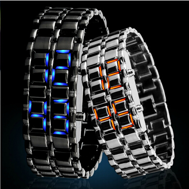 创意LED手链式手表