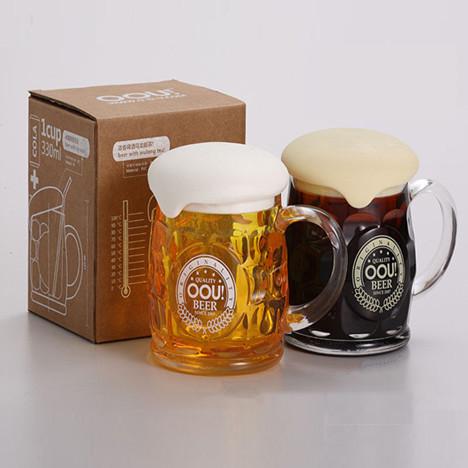创意泡泡啤酒杯
