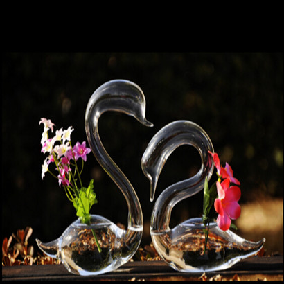 天鹅造型创意玻璃瓶