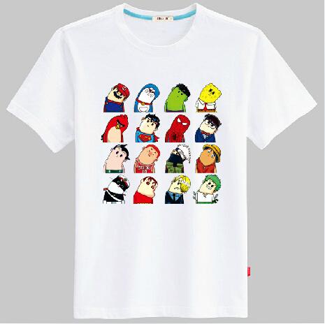歪脖子卡通创意T恤