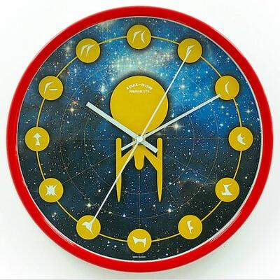 星际迷航创意挂钟