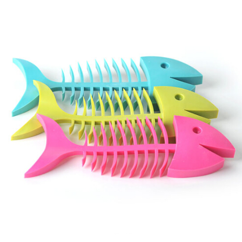 鱼骨造型香皂碟