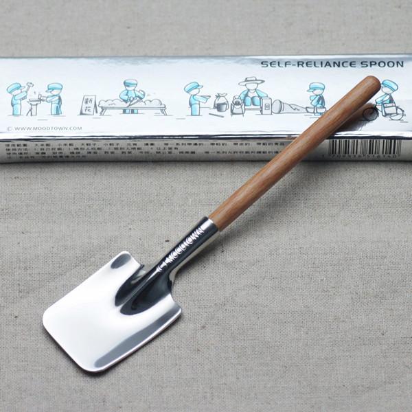 创意复古不锈钢勺子