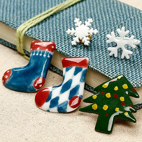 创意圣诞礼物袜子胸针