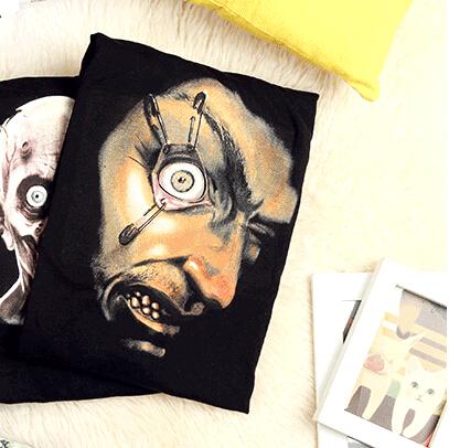 创意T恤_会动的眼球-创意产品