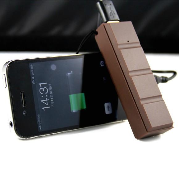 创意可爱巧克力便携充电器-创意产品