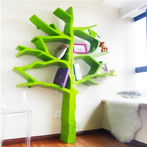 抽象树形创意书架