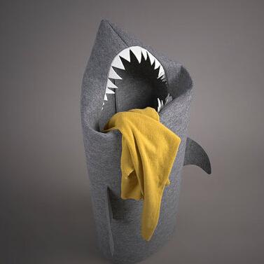 脏衣服鲨鱼收纳袋