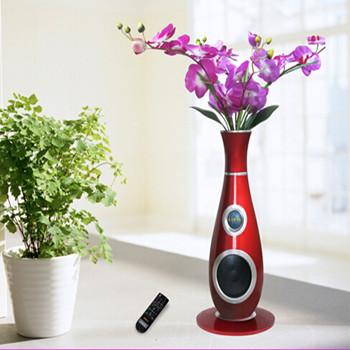 创意花瓶音响遥控收音机