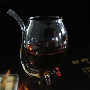有趣的红酒杯节日礼品