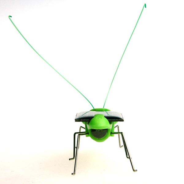 太阳能蚂蚱小玩具